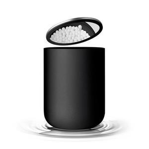 Menu - pojemnik łazienkowy z lusterkiem czarny - 2824446647