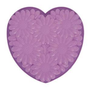 Pavoni - silikonowa forma do pieczenia Bouqet Heart - 2824446982