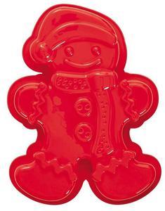 Pavoni - silikonowa forma do pieczenia Gingerman czerwona - 2824447028