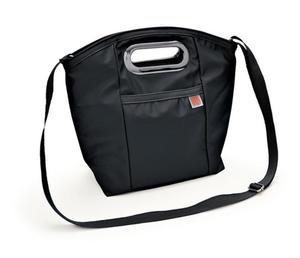 Iris- torba na lunch Lady czarna - 2843828675