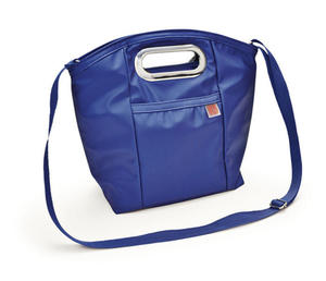 Iris- torba na lunch Lady niebieska - 2824448037