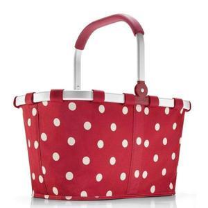 Reisenthel - koszyk na zakupy Carrybag ruby dots - 2824448175