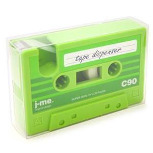 j-me - podajnik taśmy klejącej C90 zielony - 2824448810