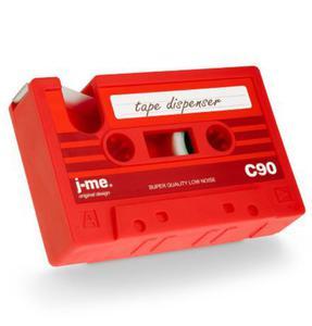 j-me - podajnik taśmy klejącej C90 czerwony - 2824448811
