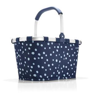 Reisenthel - koszyk na zakupy Carrybag navy spots - 2835615635