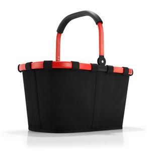Reisenthel - koszyk na zakupy Carrybag czarno czerwony - 2835615637