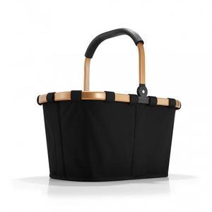 Reisenthel - koszyk na zakupy Carrybag czarno złoty - 2835615638