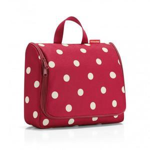 Reisenthel - Kosmetyczka toiletbag XL ruby dots - 2836485923