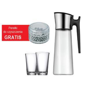 WMF - karafka do wody 2 szklanki perełki do czyszczenia - 2845616239