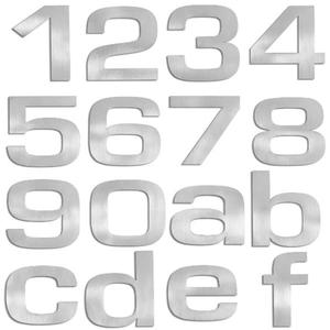 Blomus - numery i litery domu, mieszkania Signo - 2824444723