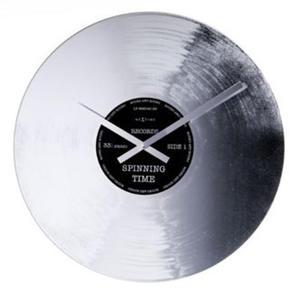 Nextime - zegar Silver Record - 2824445262