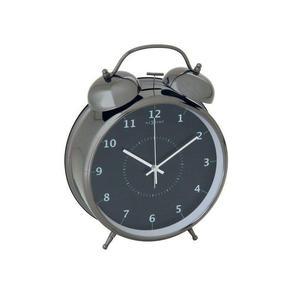 Nextime - budzik Wake Up czarny duży - 2824445272