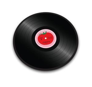 Joseph Joseph - szklana deska / podstawka Tomato Vinyl - 2824445874