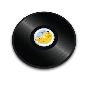 Joseph Joseph - szklana deska / podstawka Banana Vinyl - 2845432905