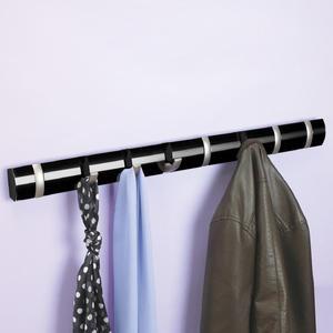 Umbra - duży wieszak na ubrania Flip - czarny połysk - Umbra - duży wieszak na ubrania Flip - czarny połysk - 2824446036