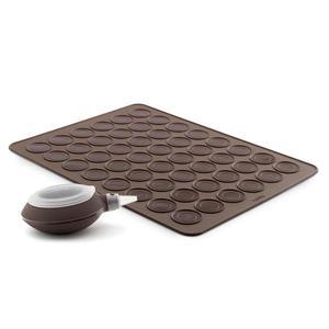 Lekue - zestaw do pieczenia ciasteczek makaroników - Lekue - zestaw do pieczenia ciasteczek makaroników - 2824446192