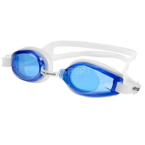 Okulary pływackie AVANTI biało-niebieskie Aqua-Speed - 2836059466