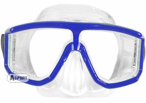Maska nurkowa GALAXY Aqua-Speed Kolor: niebieski - 2824064926