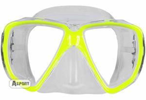 Maska nurkowa GIANT 3kolory Aqua-Speed Kolor: ��ty - 2824064932