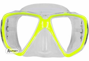Maska nurkowa GIANT Aqua-Speed Kolor: żółty - 2824064932