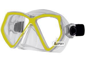 Maska nurkowa JUPITER Aqua-Speed Kolor: żółty - 2824064936