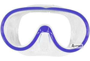 Maska nurkowa LADY 2kolory Aqua-Speed Kolor: niebieski - 2824064937