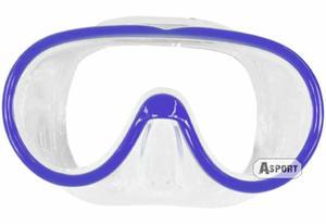 Maska nurkowa LADY Aqua-Speed Kolor: niebieski - 2824064937