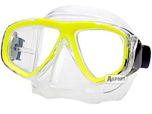 Maska optyczna ujemna korekcja OPTIC żółta Aqua-Speed - 2824066001
