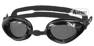 Okulary p�ywackie CITY czarne Aqua-Speed - 2824066342