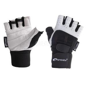 Rękawiczki skórzane fitness GUANTO Spokey Rozmiar: M - 2824066408