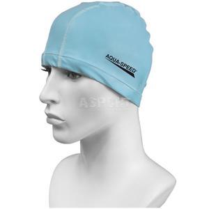 Czepek pływacki BEST jasnoniebieski Aqua-Speed - 2824067209