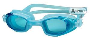 Okulary pływackie dziecięce MAREA JR niebieskie Aqua-Speed - 2824067645