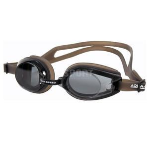 Okulary pływackie AVANTI czarno-transparentne Aqua-Speed - 2824067663