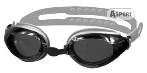 Okulary p�ywackie CITY srebrne Aqua-Speed - 2824067666