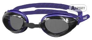 Okulary p�ywackie CITY granatowe Aqua-Speed - 2824067667