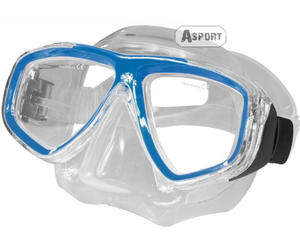 Maska optyczna ujemna korekcja OPTIC jasnoniebieska Aqua-Speed - 2824068105