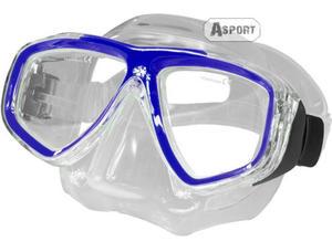 Maska optyczna ujemna korekcja OPTIC niebieska Aqua-Speed - 2824068106