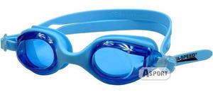 Okulary pływackie dziecięce ARIADNA niebieskie Aqua-Speed - 2824068150