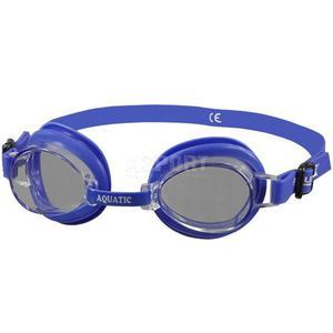Okulary pływackie, dziecięce ALERT niebieskie/szybka ciemna Aqua-Speed - 2824068182