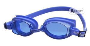 Okulary pływackie, uniwersalne ASTI niebieskie Aqua-Speed - 2824068189