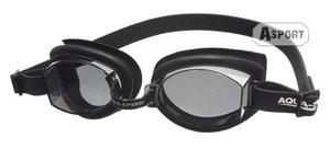 Okulary pływackie, uniwersalne ASTI czarne Aqua-Speed - 2824068190