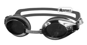 Okulary pływackie lustrzanki CHALLENGE srebrne Aqua-Speed - 2824068195