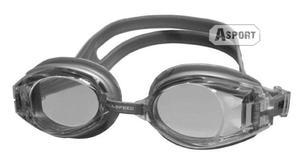 Okulary pływackie COOLER srebrne Aqua-Speed - 2824068199