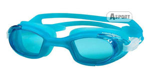 Okulary pływackie MAREA jasnoniebieskie Aqua-Speed - 2824068207