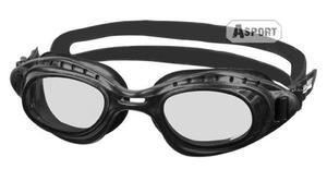 Okulary pływackie MATRIX czarne Aqua-Speed - 2824068216