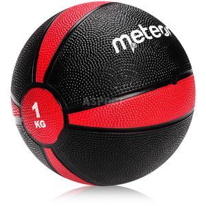 Piłka lekarska, rehabilitacyjna 1kg Meteor - 2844308158