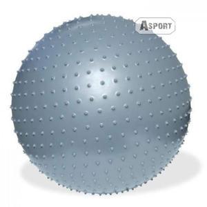 Piłka gimnastyczna, do masażu 75 cm FITNESS + pompka Meteor - 2824068859