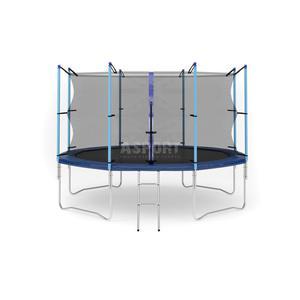 Trampolina z siatką zewnętrzną 12ft 366cm Hop-Sport - 2824069973