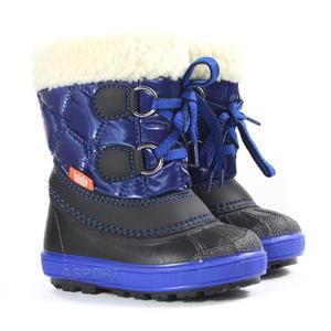 58623138 Buty zimowe, śniegowce dziecięce FURRY granatowe Demar Rozmiar: 20-21 Demar