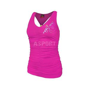 Koszulka damska, bokserka fitness, do tańca FUNKY Feel Joy! Rozmiar: L Kolor: niebieski - 2824071291